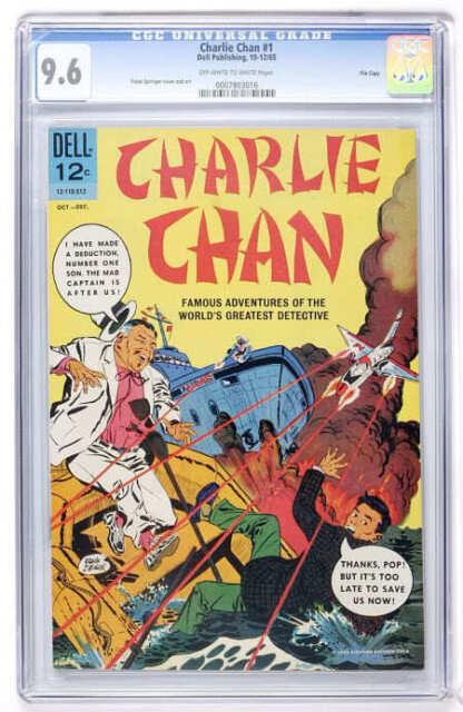 Charlie Chan #1 CGC 9.6 Dell 1965 File Copy cm