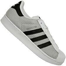 b2ae70bb2 Adidas Originals Superstar 80s Weave Pack Trainers Shoes S76674 White Black