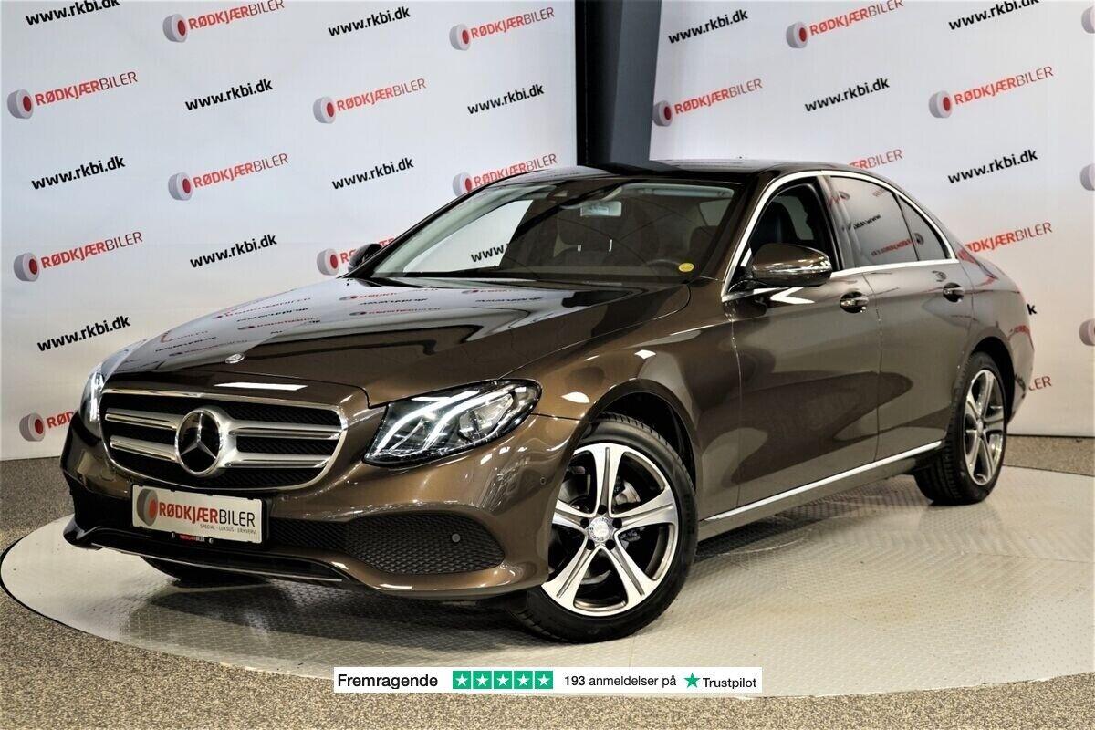 Mercedes E220 d 2,0 Avantgarde aut. 4d - 2.873 kr.