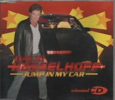 DAVID HASSELHOFF Jump in my car 4 TRACK CD NEW - NOT SEALED