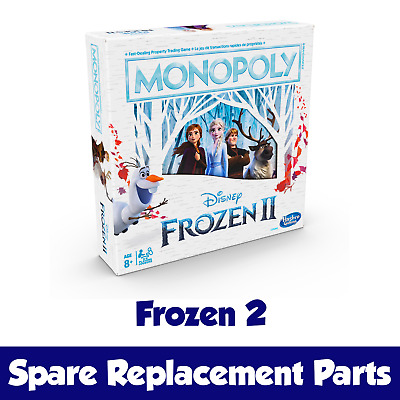 REPLACEMENTS PICK YOUR PARTS Monopoly Frozen 2 II Edition Board Game SPARES