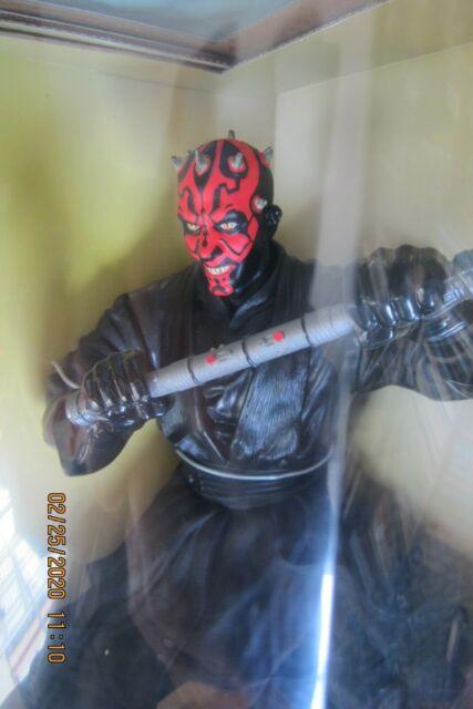Head Sculpt #1 Hot Toys DX17 1//6 Star Wars The Phantom Menace Darth Maul