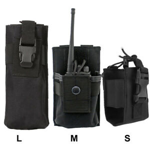 Versatile-Radio-Holder-Interphone-Case-Molle-Walkie-Talkie-Holster-Tool-Pouches