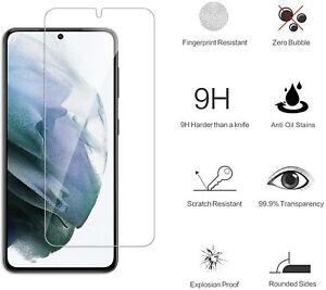 Verre Trempé pour Samsung Galaxy S21,Film Protection écran Dureté 9H