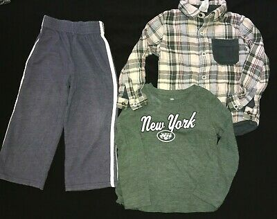 New York Jets Toddler Winter Coat Parka NWT 2T 3T 4T Kids NEW