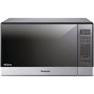 Image Is Loading Panasonic Nn Sn686sr 1 2 Cu Ft 1200