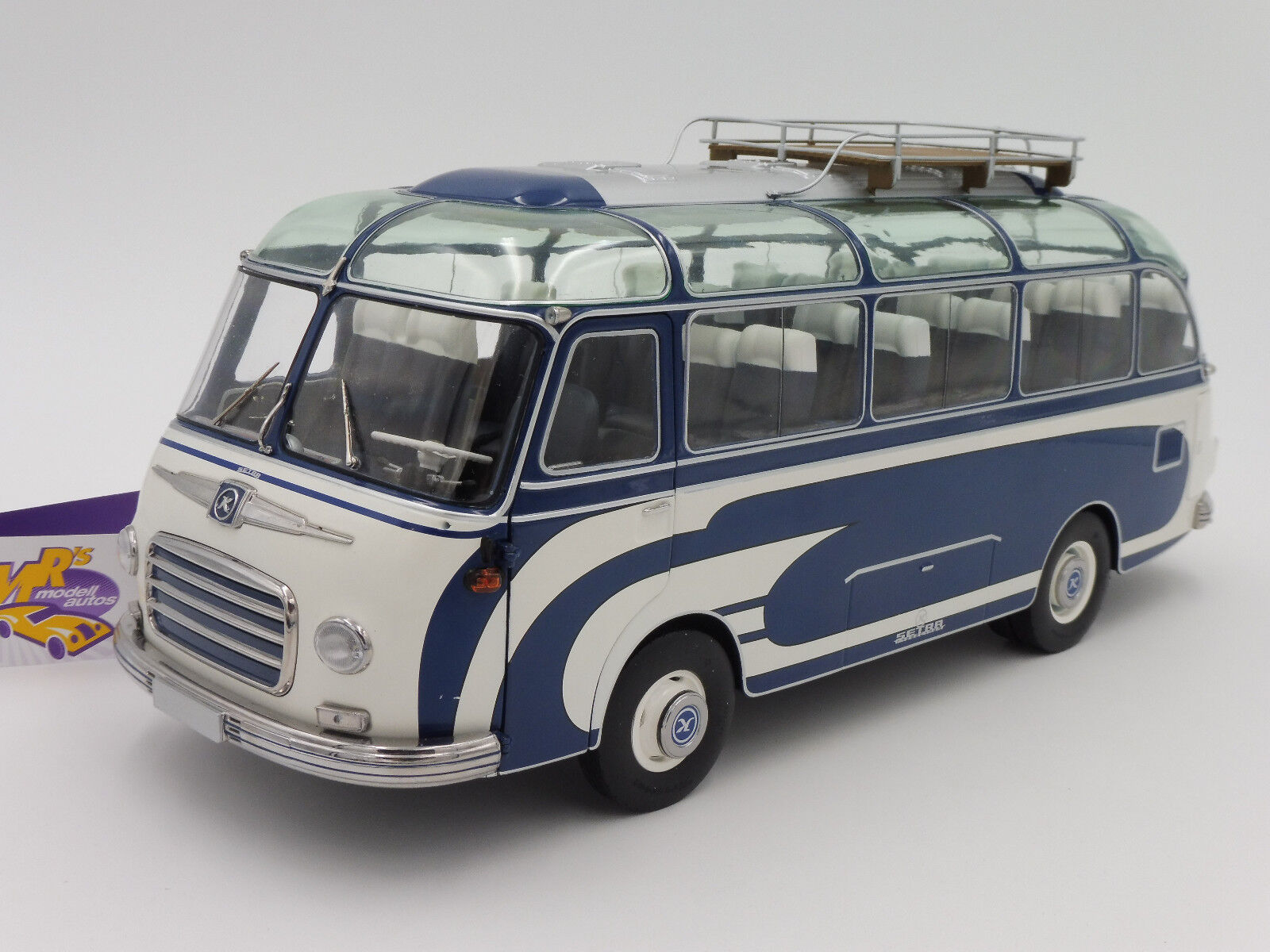 Schuco 00347 # SETRA SETRA SETRA s6 Autocar année de fabrication 1963 in