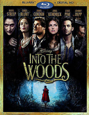 Into the Woods (Blu-ray+Digital HD) New w/Slip