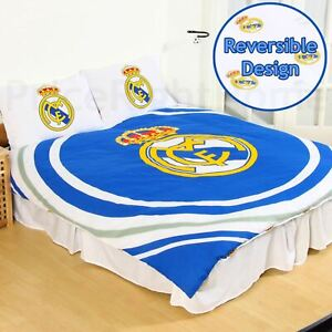 Officiel-Real-Madrid-Cf-Impulsion-Set-Housse-de-Couette-Double-Enfants-Adultes
