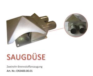 Pelletsaugsystem Kompakt mit Saugsonde Pelletauffangbeh/älter Pelltech