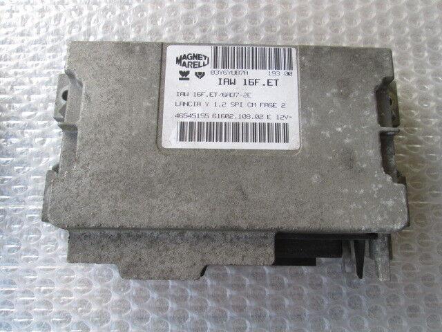 LANCIA Y Ypsilon 1.4 44KW (840A3000) Pièces de Rechange ECU Injection Mot