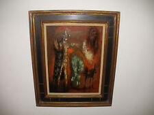 Listed JULIO DE DIEGO ( Spanish / American, 1900-1979 ) oil painting