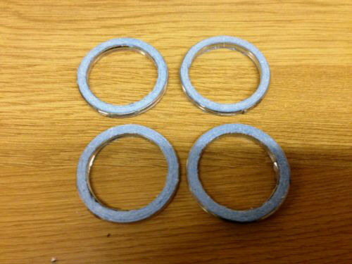 Yamaha FZR 1000 R EXUP Set of 4 Exhaust Gaskets 1989-1995