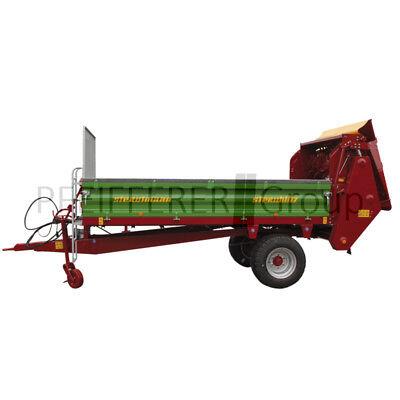 Humor Siku Farmer 1:32 Strautmann Ein-achs-streuer Angenehm Im Nachgeschmack Baufahrzeuge & Traktoren