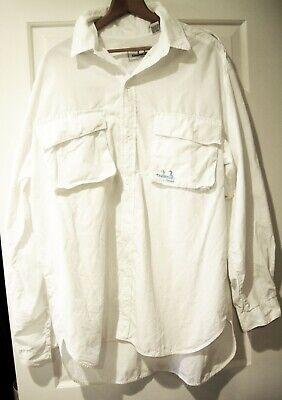 National Guard FLW Outdoors Fishing Hook White T-Shirt Size XL