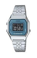 Casio Vintage Watch * LA680WA-2B Silver w/Blue Steel Classic Women COD PayPal