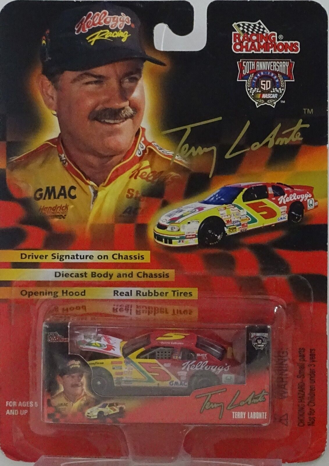 Nascar 50th Anniversary Racing Champions 1998 Terry Labonte Kelloggs