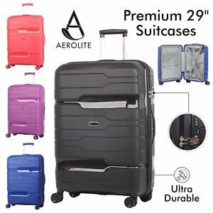 Aerolite-29-034-Ultra-Secure-Large-Suitcase-ABS-Hard-Shell-Hold-Luggage-Bag-8-Wheel