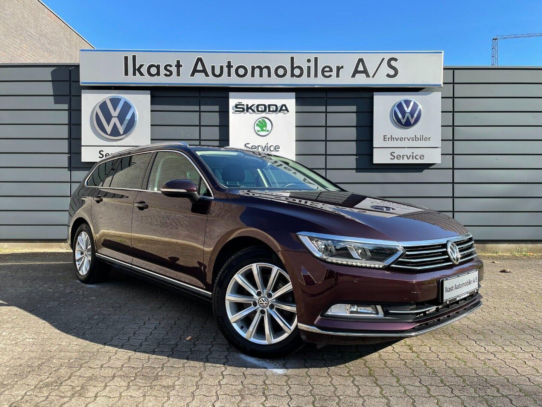 VW Passat 2,0 TDi 150 Highline Premium Variant DSG 5d - 299.900 kr.