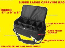 JUMBO LARGE SIZE PRO CARRYING CASE BAG  DIGITAL CAMERA CAMCORDER HANDYCAM