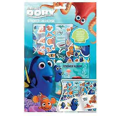 Finding Dory Sticker Paradise  6 sheets of reusable stickers /& a sticker album