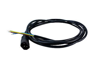 Kaltgeräte-stecker Kabel Männlich Iec Stecker 2meter Für Progear Vorschaltgeräte