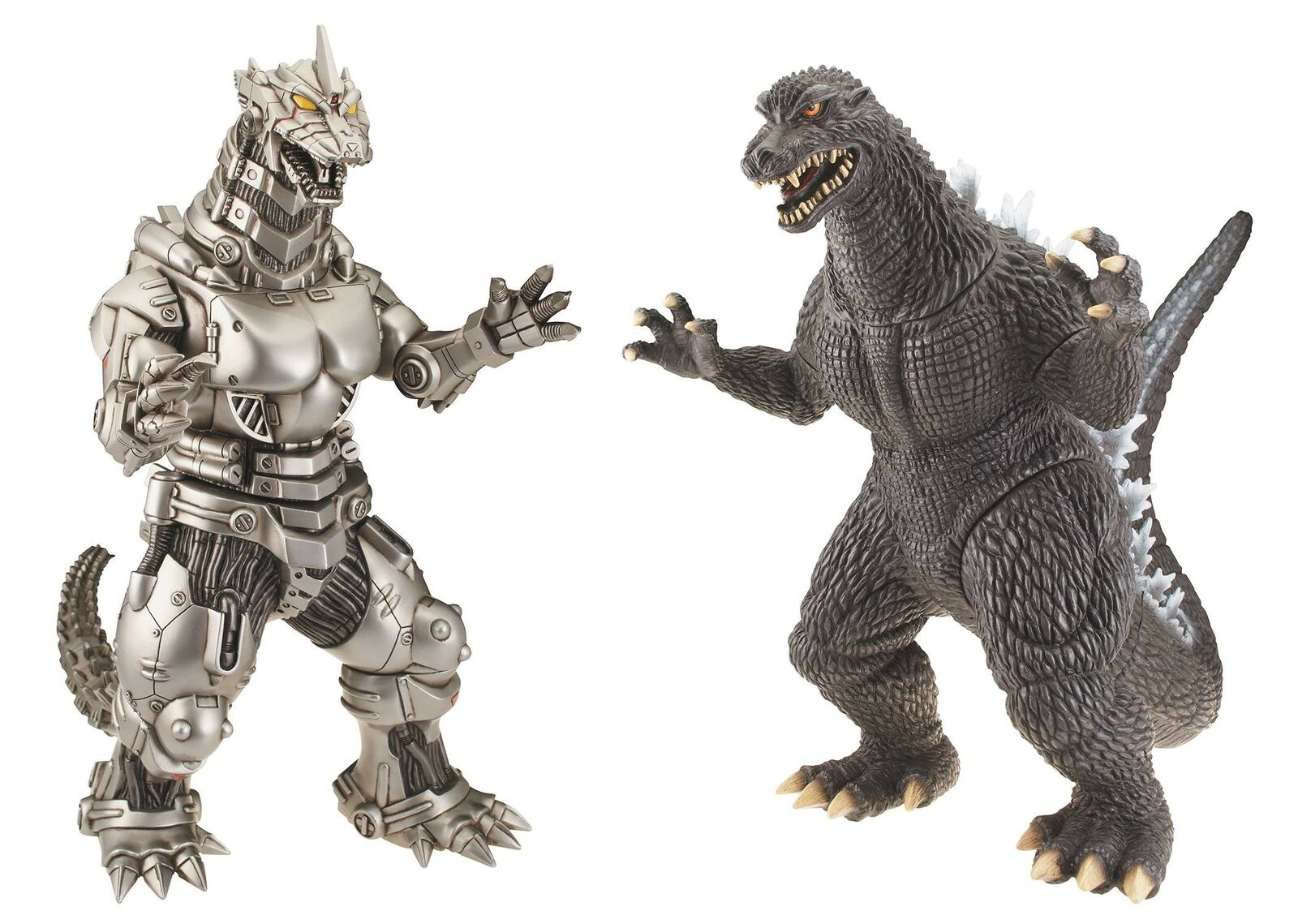 Final Wars Godzilla & Milenio Mechagodzilla 12 Pulgadas Conjunto de 2 figuras de vinilo