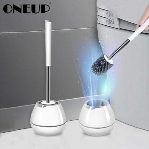 2020 Silicone TPR Toilet Brush Wall-mounted Cleaning Brush For Bathroom Cleaning