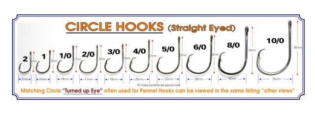 10 x SIZE 10//0 KOIKE HIGH CARBON EXTRA STRONG CIRCLE SEA FISHING TACKLE HOOKS