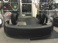 92-95 Civic 2/3dr Wide 3 Piece Drag Racing Front End Bumper Fenders Sfwd Closed
