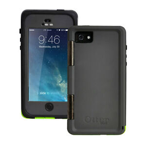 New-Otterbox-Armor-Series-Waterproof-Phone-Case-For-Apple-iPhone-5-5S-SE-Green