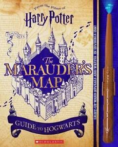 Harry-Potter-The-Marauder-039-s-Map-Guide-to-Hogwarts-by-Ballard-Jenna-NEW-Book