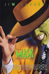 The Mask 11X17 Original Movie Poster Jim Carrey Cameron Diaz