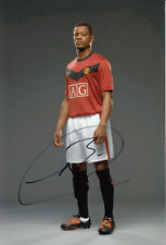 Manchester United Hand Signed Patrice Evra Photo 12x8 2.