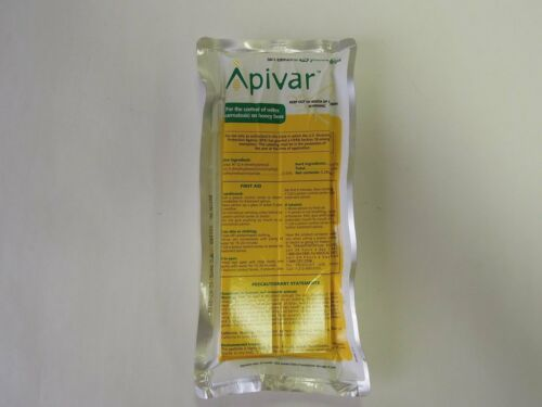 Apivar Api Var Api-Var Amitraz für Bienenkorb Bienenstöcke 1 Paket ab 10