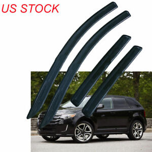 4Pcs-Vent-Window-Shade-Visors-Rain-Sun-Guards-For-Lincoln-MKX-2007-2015
