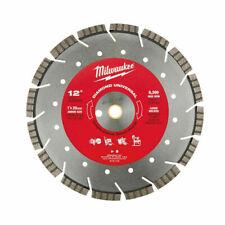 Milwaukee 49 93 7135 12 Diamond Universal Segmented Turbo Saw Blade