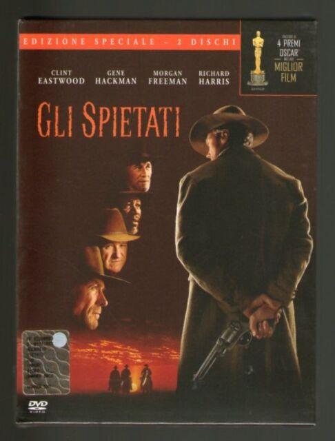 GLI SPIETATI - Edizione Speciale - 2 DVD - Clint Eastwood - NUOVO - SIGILLATO