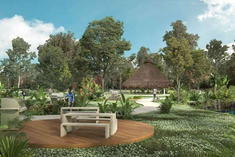 Mitikah: Cenote dentro del desarrollo Premium a 48 MSI, terrenos urbanizados