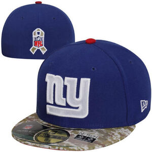 Details about New York Giants NFL Salute to Service On Field Camo Visor  Flat Brim Hat Cap Era 9887488bc5c
