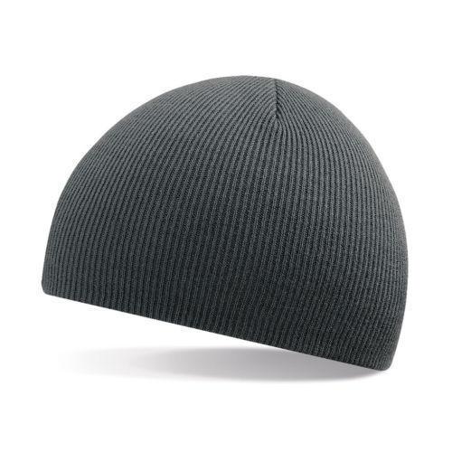 neve autunno pioggia Grafite unisex grigio morbido cappello Beanie-inverno caldo