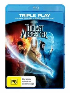 The-Last-Airbender-Blu-ray-amp-DVD-2-Disc-Set-Terrific-Condition
