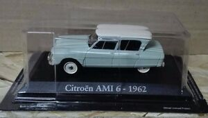 DIE-CAST-034-CITROEN-AMI-6-1962-034-SCALA-1-43-RBA-AUTO-INDIMENTICABILI