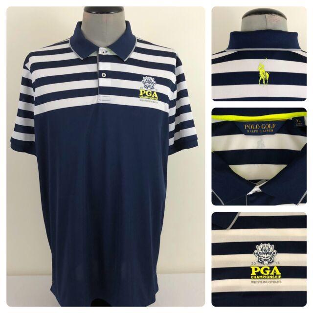 Ralph Lauren Polo Golf Mens XL Pony 2015 PGA Whistling Straits Fairway Shirt