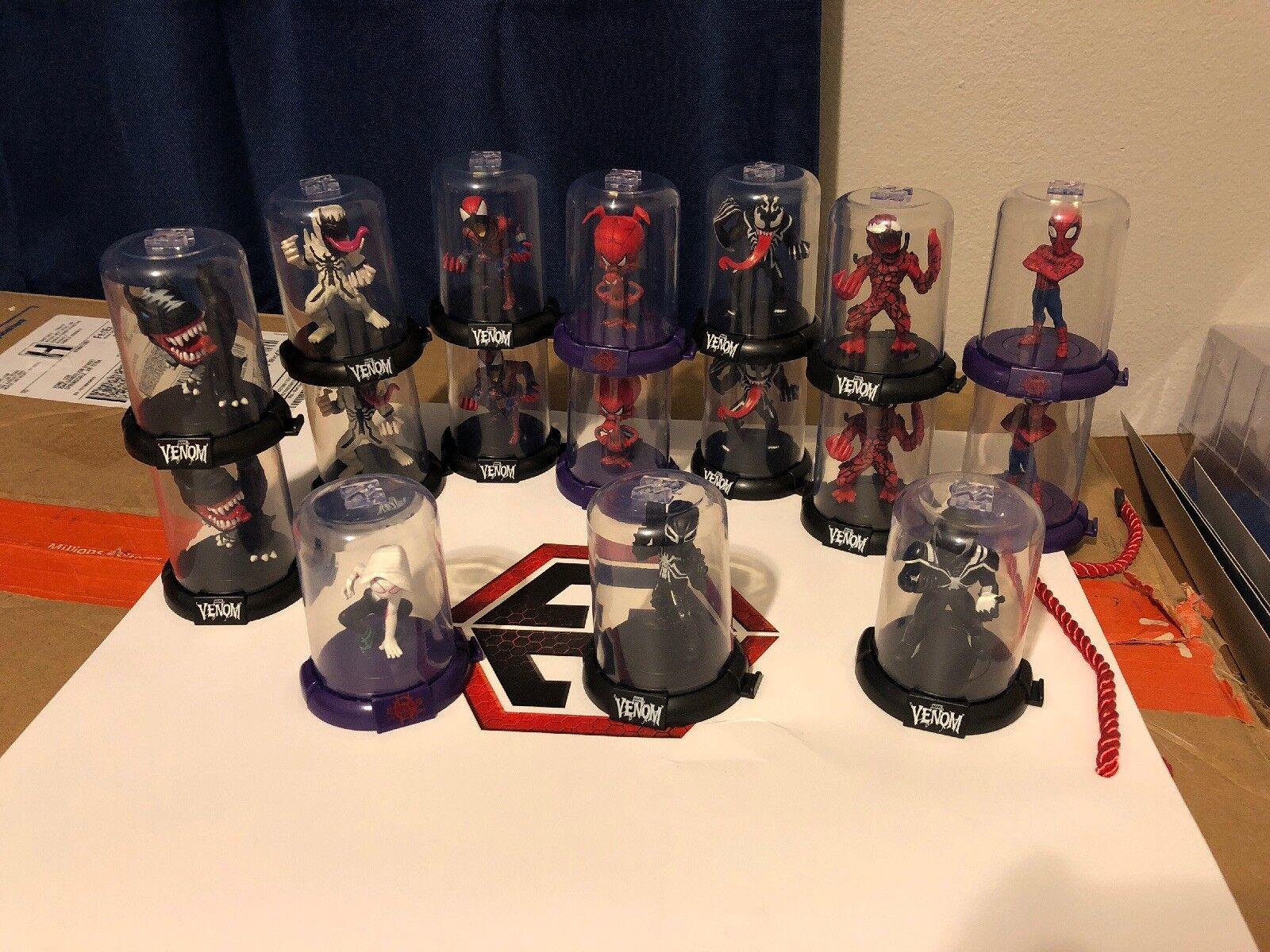 Venom Domez Series 1 & Spider-Man Into The Spider-verse Zac Toys Domez