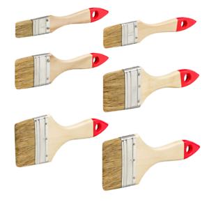 Flachpinsel-Lackpinsel-Lasurpinsel-Malerpinsel-25mm-35mm-50mm-60mm-75mm-100mm