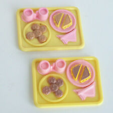 Fisher Price Loving Family Dollhouse COFFEE MUGS CROISSANT PASTRIES PASTRY