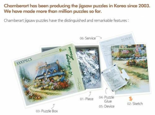 "Paper 28.9*20/"" Mississippi Sailing Boat Chamberart Jigsaw Puzzle 1,000pcs"