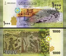 Syria Unc 2013 1000 Pounds P116a
