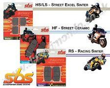 SBS Street Ceramic rear brake pads for Cagiva River 500 99-02 519HF 00 01